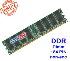 Mémoire 1GO DDR PC2100-PC2700-PC3200 1024MO DANE-ELEC D1D432-06428-B 184PIN 1GB