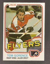 1981-82 O-Pee-Chee Tom Gorence #250 (Buy 5 3.00 Cards Pick 2 Free)