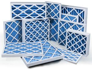 G4 Pleated Panel Filter - Various Sizes Card Case EU4 HVAC Air Filter 45mm Depth