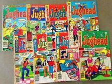 8 Archie Comics Bronze Age JUGHEAD  Betty Veronica  (Lot A23)