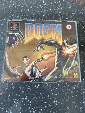 Doom ~ PlayStation PS1 Game ~ Fat Box Black Label Version ~ PAL *