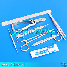 Home Podiatry Kit, Foot, Toe Nail, Care, Treatment, Stainless Steel BTS-97