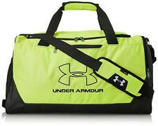 NEW NWT UNDER ARMOUR  MEN /WOMEN GREEN STORM HUSTLE R  SMALL DUFFLE GYM BAG