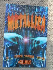 METALLICA FILLMORE POSTER Death Angel CKY Depressur SYSTEMATIC F569 Rex Ray