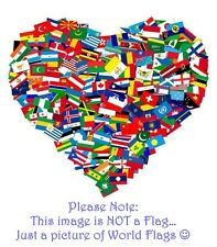 International / Country Waver/Desk Flag All Countries available- see description