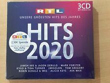 RTL HITS 2020 - Audio-CD (3 CD's) OVP, neuwertig!