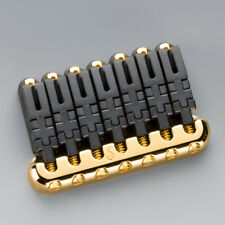 Schaller Guitar Bridge 7 String Hannes Gold Finish