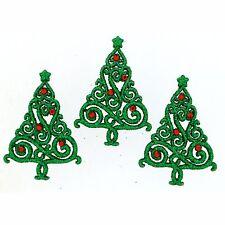 Jesse James Embellishments Dress It Up CHRISTMAS ELEGANCE 9074 ~ Christmas Trees