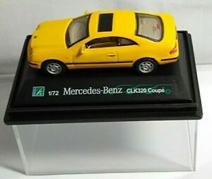 HONGWELL - 1:72 DIECAST - MERCEDES-BENZ CLK320 COUPE - YELLOW