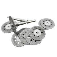 Rotary Tool Circular Saw Blades Plastics Cutting Wheel Discs Mandrel Cutoff 22mm