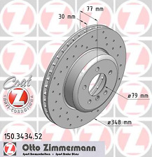 Bremsscheibe (2 Stück) SPORT-BREMSSCHEIBE COAT Z - Zimmermann 150.3434.52