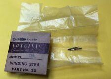 NOS Longines Winding Stem Cal.5L Part 401 Watch Parts Repair Restore Swiss New