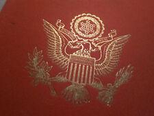 1941 - 1945 FOR BETTER WORLD ROOSEVELT SPEACHES PRINTED IN 1947