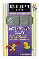 Sargent Art 22-4084 1-Pound Solid Color Modeling Clay Gray