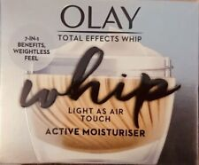 Olay Total Effects Whip Light as Air Touch Active Moisturiser.