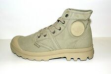 Discount 40% PALLADIUM Boots Pallabrouse Khaki Booties Shoes Sneakers Canvas