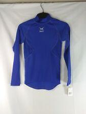 Russell Blue Dri Power Stretch Fit Athletic Shirt Youth Medium