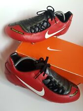 Nike total 90 laser mens football boots  Pro Version size 10 red  black