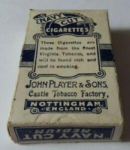 Scarce vintage Player's Navy Cut Medium cigarette packet slider only - no hull.
