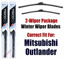 WINTER Wipers 2-Pack fits 2014+ Mitsubishi Outlander - 35260/180
