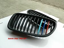 MIT M COLOR MATT BLACK KIDNEY GRILLE BMW F10 5 SERIES 2010-NOW