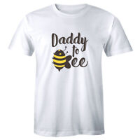 Daddy To Bee Men's T-Shirt Pregnancy Announcement Expecting Dad Reveal Shirt
