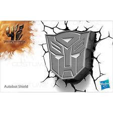 Transformers Autobot Shield 3D FX Deco Wall LED Night Light Nightlight