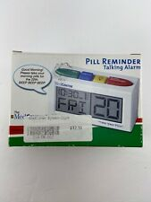 Med Center Pill Reminder Talking Alarm