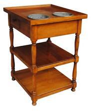 Petit meuble dit Rafraîchissoir en merisier d'époque 1900