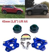 """Lift Kit for Suzuki Grand Vitara, Escudo 05-17 1,8"""" 45mm Leveling strut spacers"""