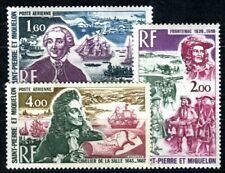 ST PIERRE et MIQUELON 1973 489-491 ** POSTFRISCH TADELLOS ENTDECKER 45€(F4058