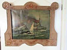 Prächtiges Bild - Seeschlacht - Kriegsschiffe - 1917 - 1. Weltkrieg - Marine -#2