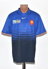 RUGBY FRANCE 2011 COUPE DU MONDE League shirt jersey maglia NIKE