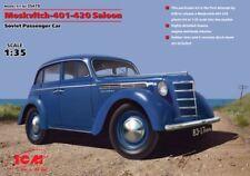 ICM 1/35 Moskvitch-401-420 Saloon Soviet Passenger Car # 35479