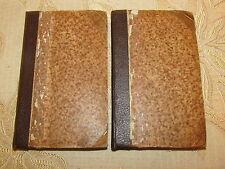 Antique Collectable  Books Of Les Caracteres De La Bruyere, Vol. I - II , - 1818
