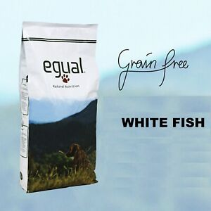GRAIN FREE - EGUAL -  WHITE FISH formulato senza cereali ricco di Omega 3  15Kg