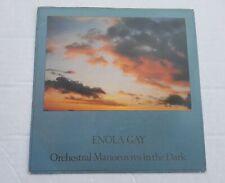"OMD - Enola Gay 7"" Vinyl Record 1980s Pop Single Orchestral Manoeuvres"