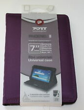 PORT DESIGNS PHOENIX II  7''  UNIVERSAL MAJORITE TABLET CASE - NEW - PURPLE