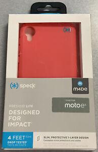 Speck Presidio Lite Series Case for Motorola Moto e6 - Parrot Pink *2D