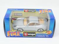 1:43 BURAGO BBURAGO STREET FIRE #4118 PORSCHE 911 CARRERA CUP NIB [PM3-036]