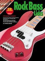 PROGRESSIVE ROCK BASS LICKS Book & CD