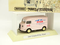 Matchbox 1/43 - Citroen Type H Van Evian