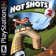 Hot Shot Golf 2 PS New Playstation