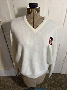 Aureus White Ohio State Sweater Size XL Made In U.S.A