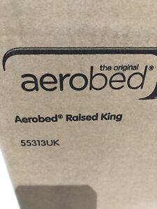 Aerobed Raised King  New, Sealed, Unused. BNIB