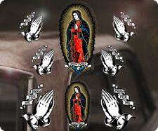 8x Stück Pray for me Sticker Aufkleber Jungfrau Maria Virgin de Guadeloupe S1