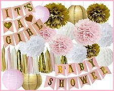 Pink and Gold Baby Shower Decorations For Girl GROWING A PRINCESS SASH