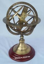 Antique Nautical Armillary Tabletop Sphere Globes Armillary Office & Home Decor