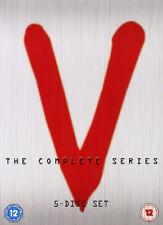 V COMPLETE SERIES DVD BOXSET Robert Englund 5 Discs UK Release New R2