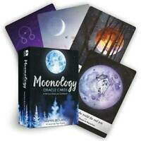 Tarot Cards Moonology Oracle Cards: A 44-Card Deck English Practical Game Funny